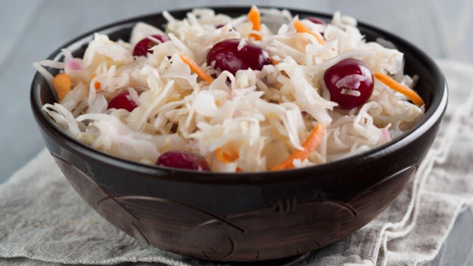 Sauerkraut, und Gemüse generell, gehören zu den Favoriten der Fermentationsküche