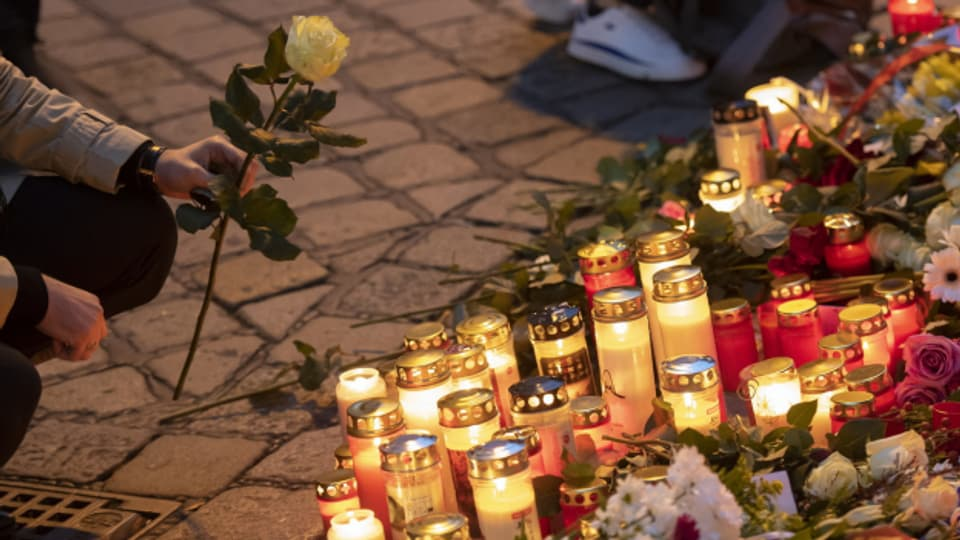 In Wien wird der Opfer des Attentats gedacht