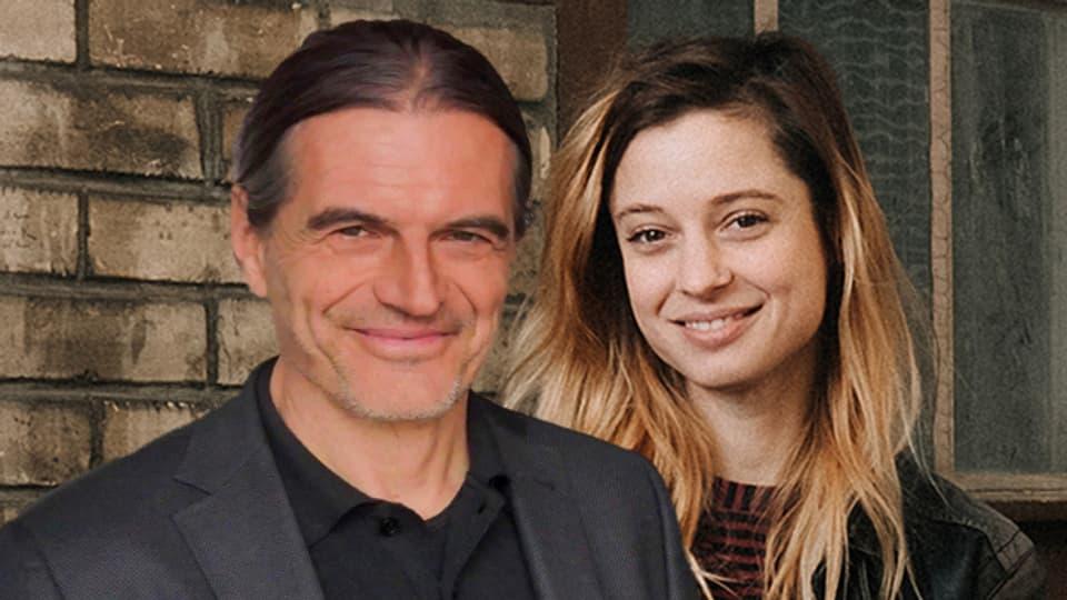 Daniel Perrin und Lara Stoll