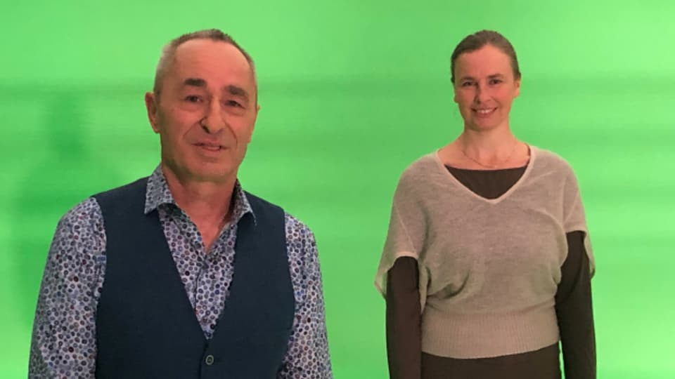 Zirkusdirektor Johannes Muntwyler & Ärztin Helenka Pajtler-Zingg