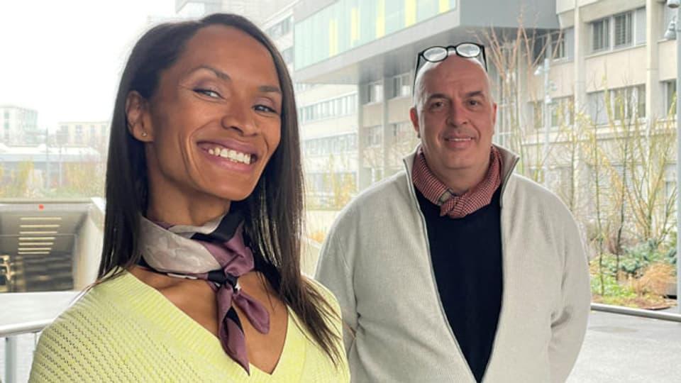 Zu Gast in der Sendung: Vera Achana und Fox Hardegger.