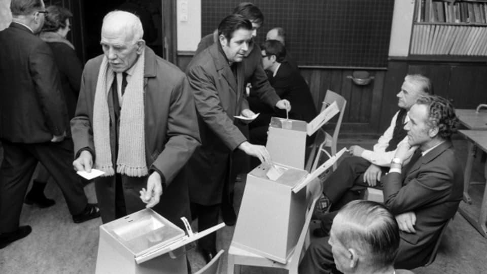 Fast zwei Drittel der Männer stimmten der Vorlage zu.