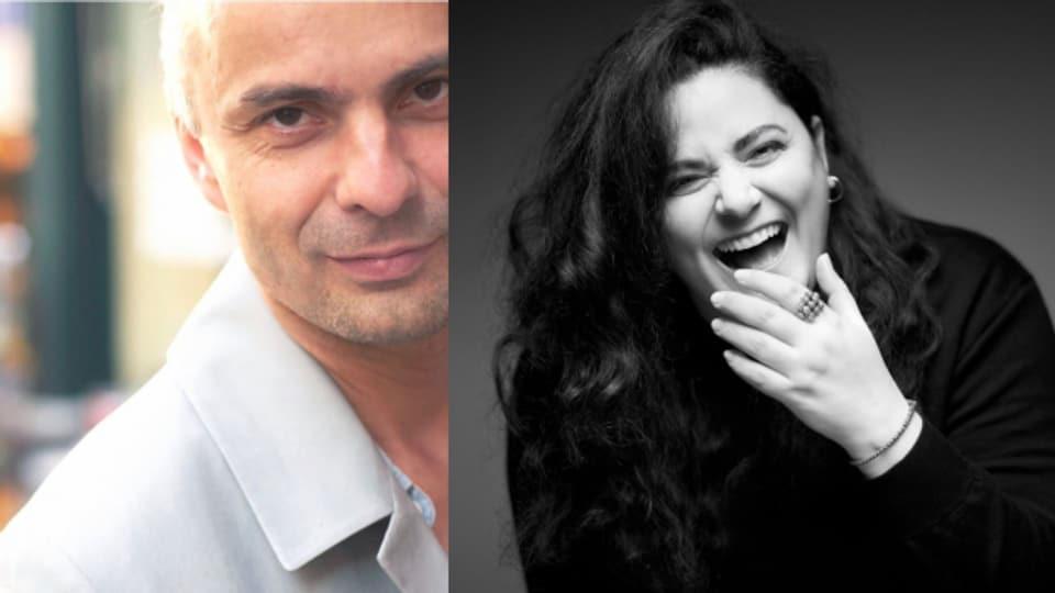 Res Wepfer und Rebekka Lindauer