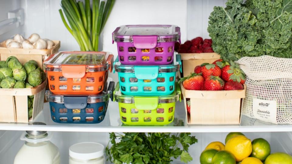 Wer im Kühlschrank die Übersicht hat, vermeidet Food Waste.