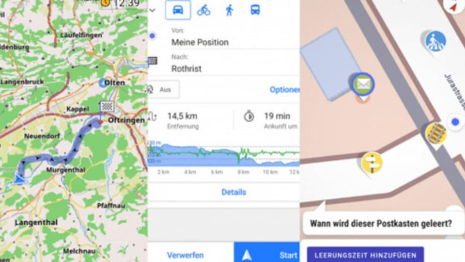 Open Street Map ist in vielen Bereichen sogar detaillierter als Google Maps.