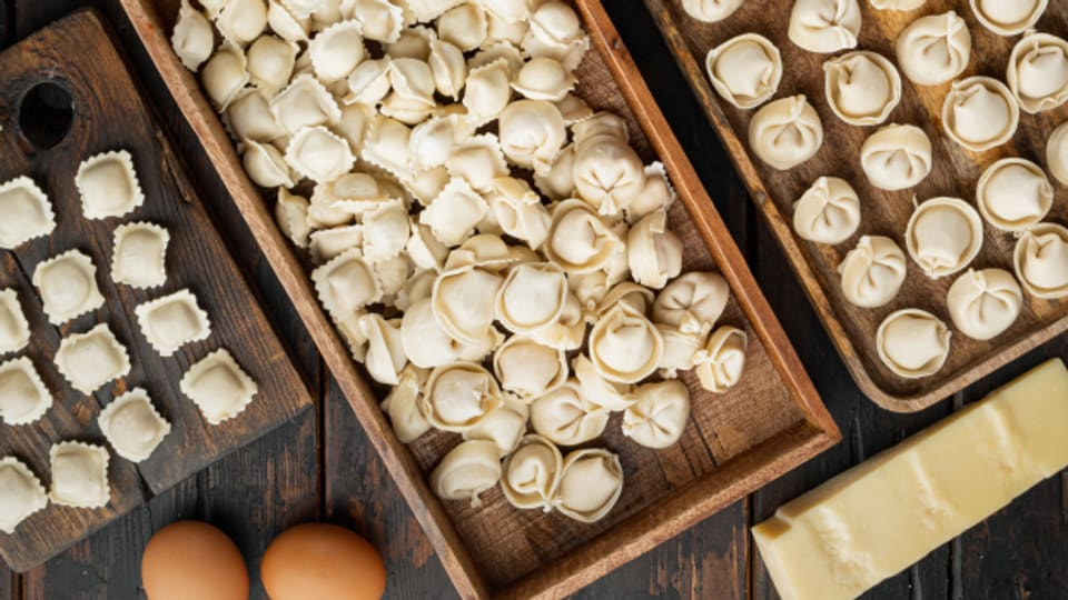 Hausgemachte italienische Teigtaschen sind ein grosses kulinarisches Glück.