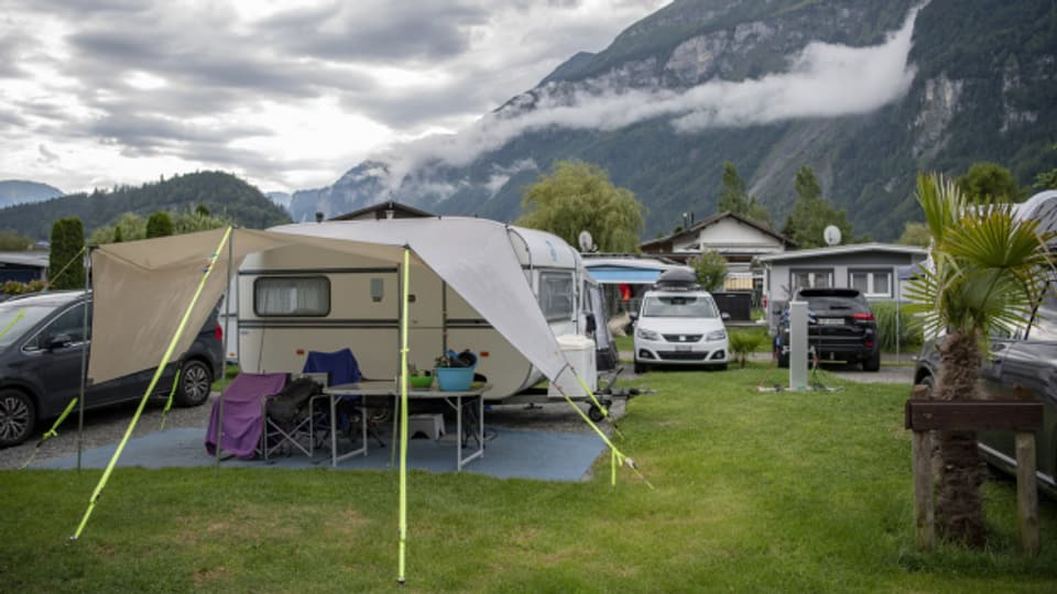 Auf den Campingplätzen herrschte 2021 trotz Corona Hochbetrieb.