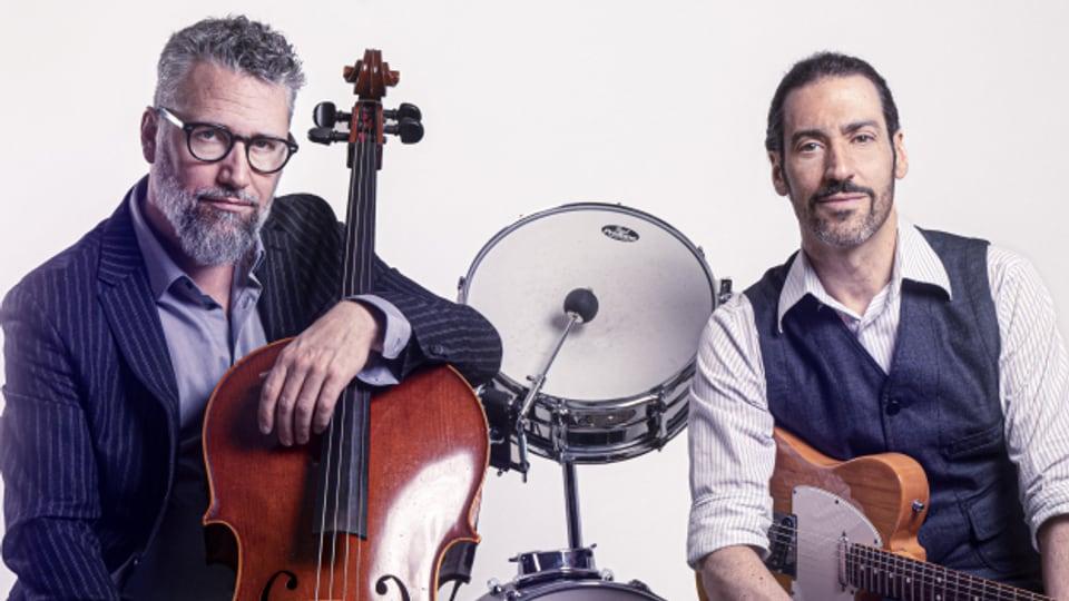 Roman Riklin (links) und Daniel Schaub: Freundlich auf dem Foto - aber nicht immer mit den Texten ihrer Songs!