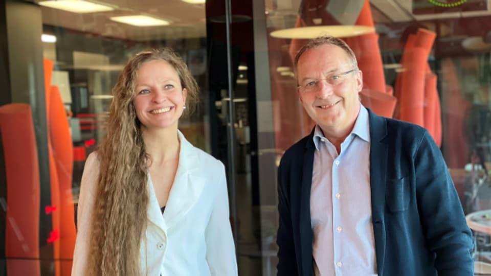 """""""Persönlich Gäste"""" von Christian Zeugin, Christina Daletska und Fredy Bickel"""