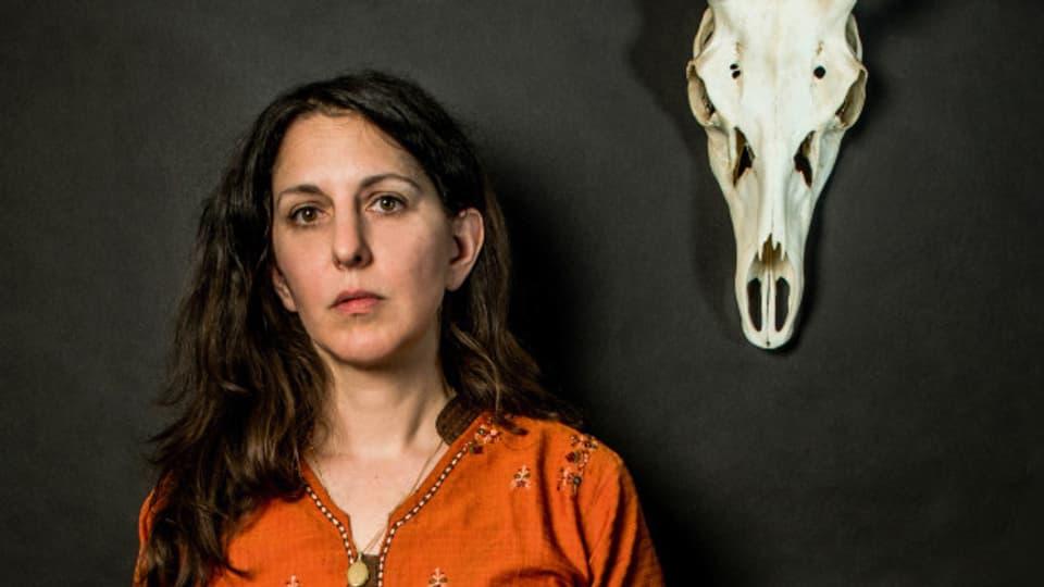 Die Schweizer Autorin Silvia Tschui