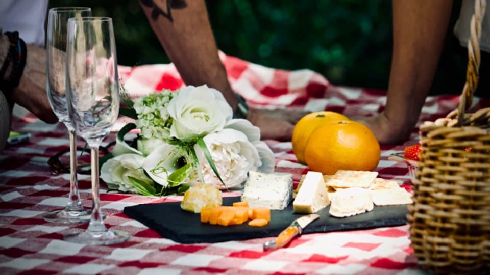 Mit richtigem Geschirr wirkt ein Picknick im Grünen viel edler.