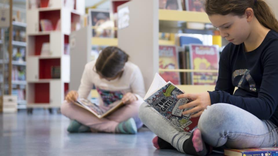 Bücher entführen einen in andere Welten und öffnen den Horizont