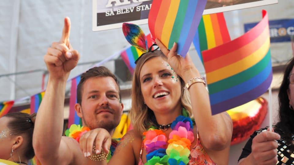 Die Pride - hier in Stockholm - steht für die Vielfalt bei der sexuellen Orientierung und der Geschlechteridentität