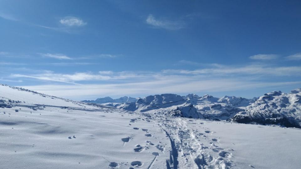 Skitouren jetzt im Mai.