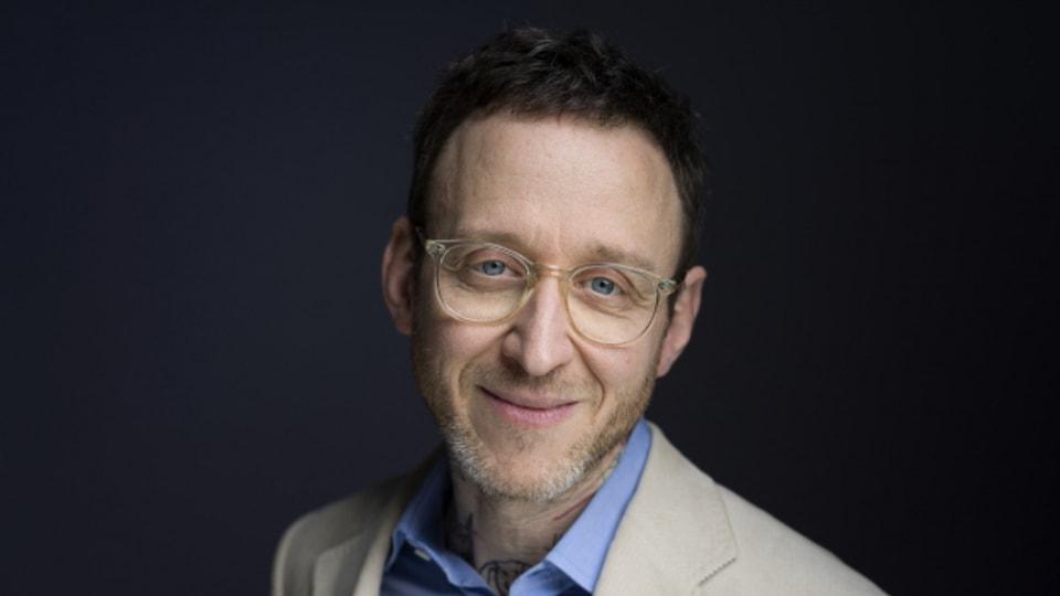 Der Schweizer Schriftsteller Thomas Meyer