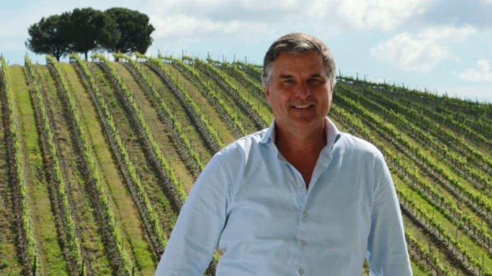 Reto Jörg liebt gute Weine und feines Essen.
