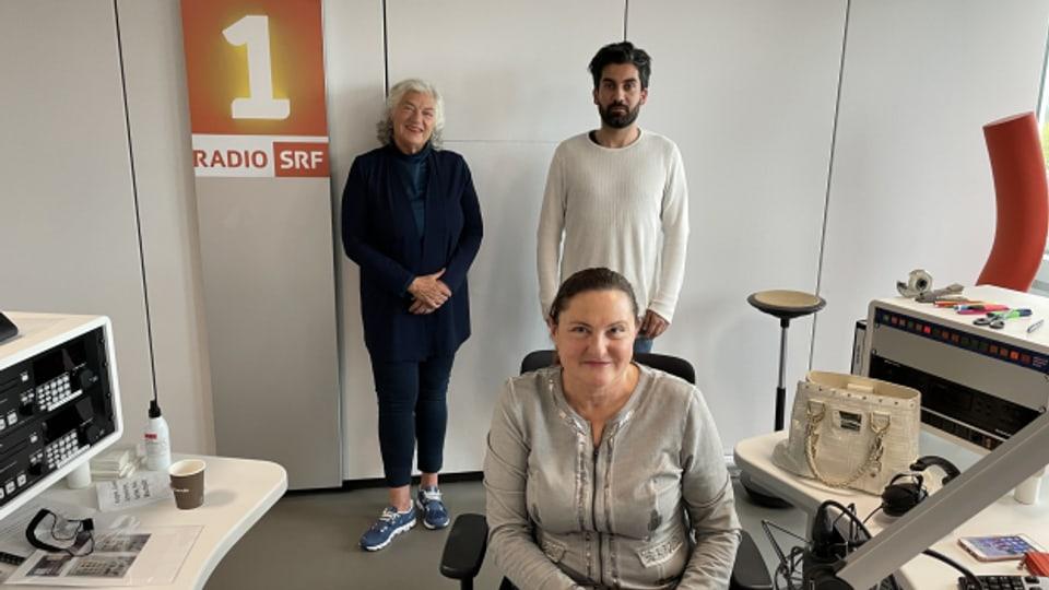 Ellen Ringier und Cenk Korkmaz zu Gast bei Heidi Ungerer