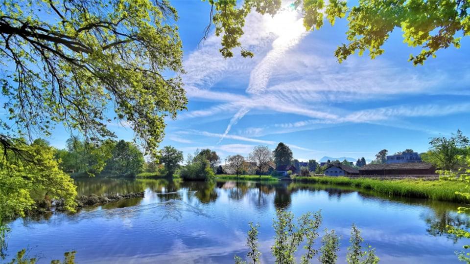Kleine Seen haben aktuell maximal 16 Grad.