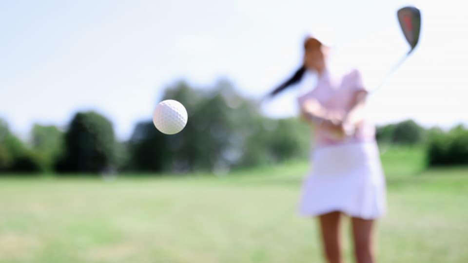 Golf fordert den Körper und den Geist