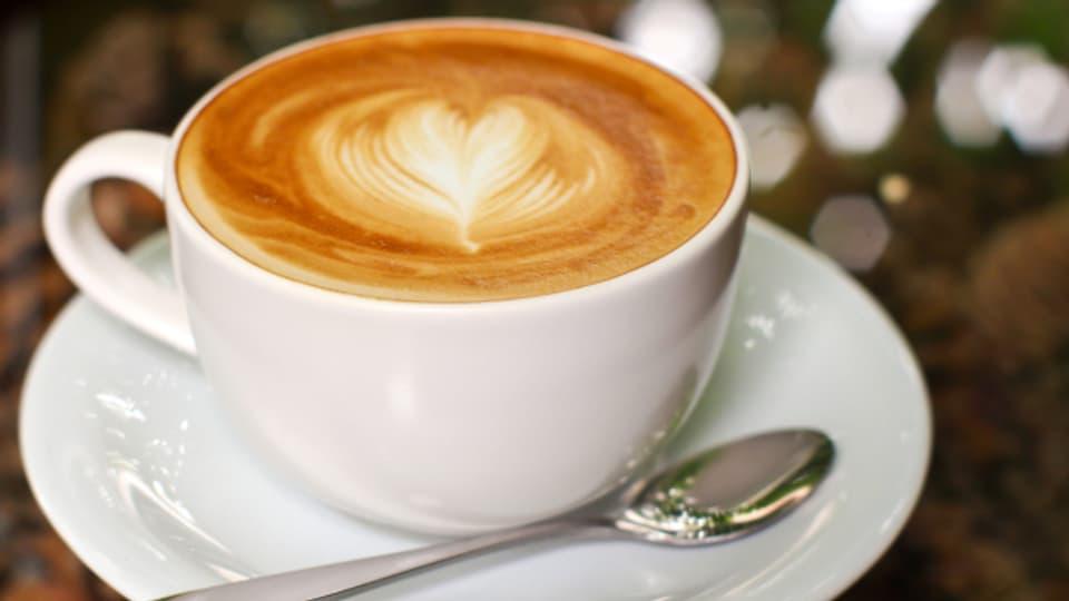 Mit einem Herzli schmeckt der Cappuccino doppelt gut.