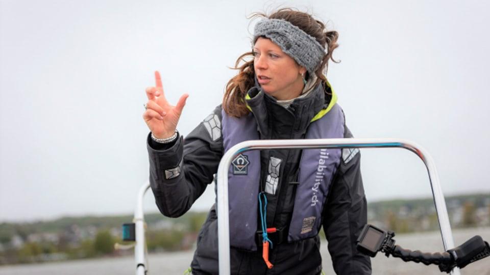 Tatiana Rhiner arbeitet als Segelinstruktorin bei Sailability.