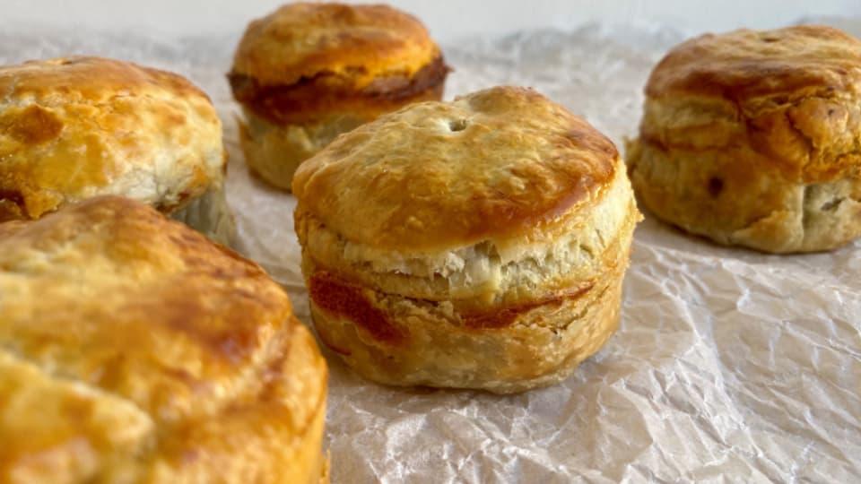 Meat Pie - sehr beliebt als kleine Zwischenverpflegung.