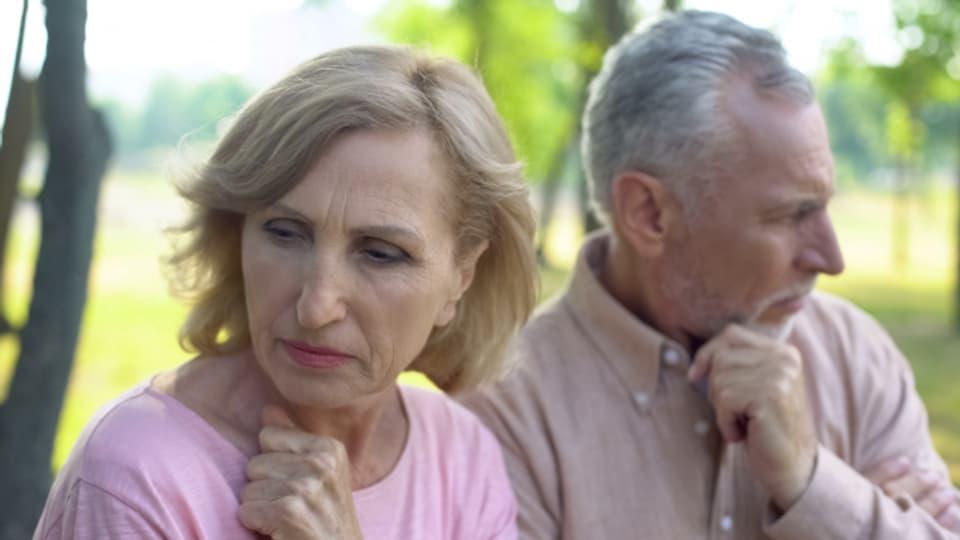 Scheidungen machen auch vor langjährigen Ehen keinen Halt.