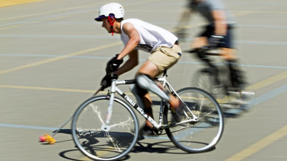 Bike-Polo wurde kreiert von der Velokurier-Szene.