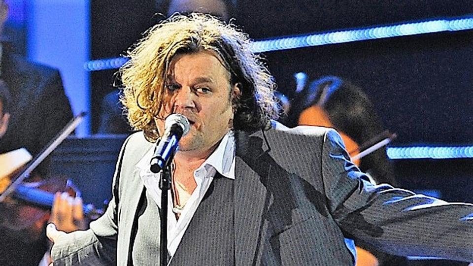 Büne Huber am Swiss Award 2010, 10 Jahre nach seinem einzigen Solo-Album