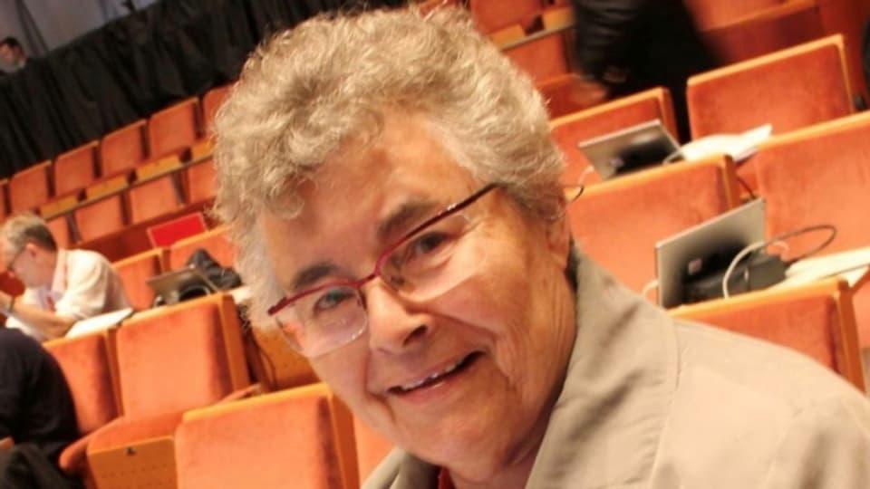 Verena Renhorn lebt seit über fünfzig Jahren in Schweden.
