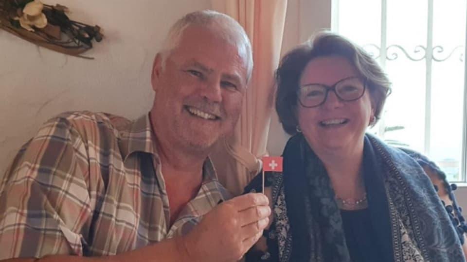 Günter und Cornelia Bruttel haben ihr Traumhaus in Spanien gefunden.