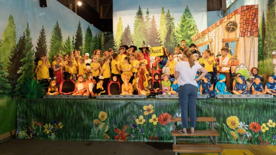Kindertanztheater.