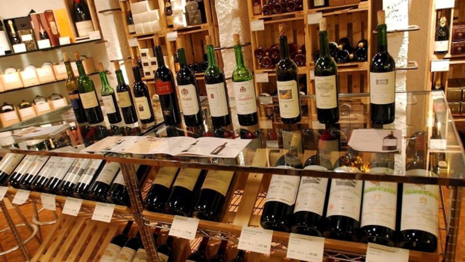 Friedrich Dürrenmatt liebte die edlen Rotweine.