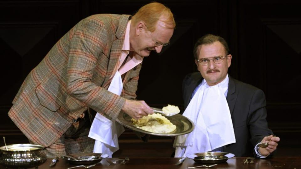 Friedrich Dürrenmatt beschäftigte sich in seinen Werken immer wieder mit dem Essen.