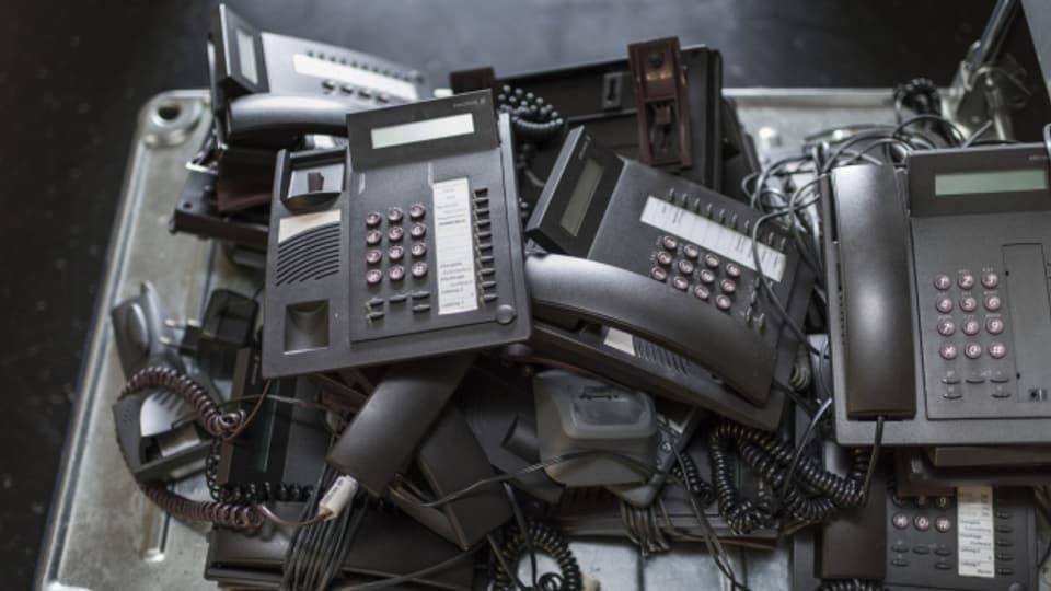 Wie lange hält sich die Festnetztelefonie noch?