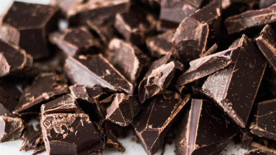 Schwarze Schokolade - Säurekick fürs Schmorgericht.