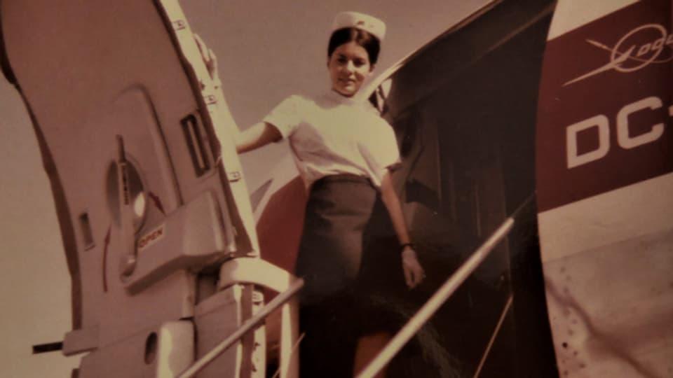 Zeitzeugin Alice Koller-Helbling, Air-Hostess bei der Swissair