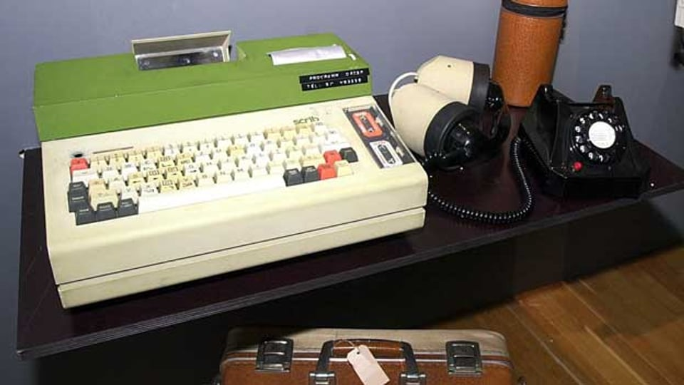 Scrib - eine Schreibmaschine, die den Journalismus verändern sollte.
