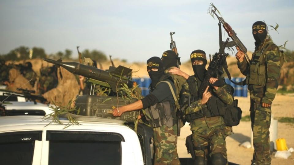 Sie kämpfen für den Jihad.