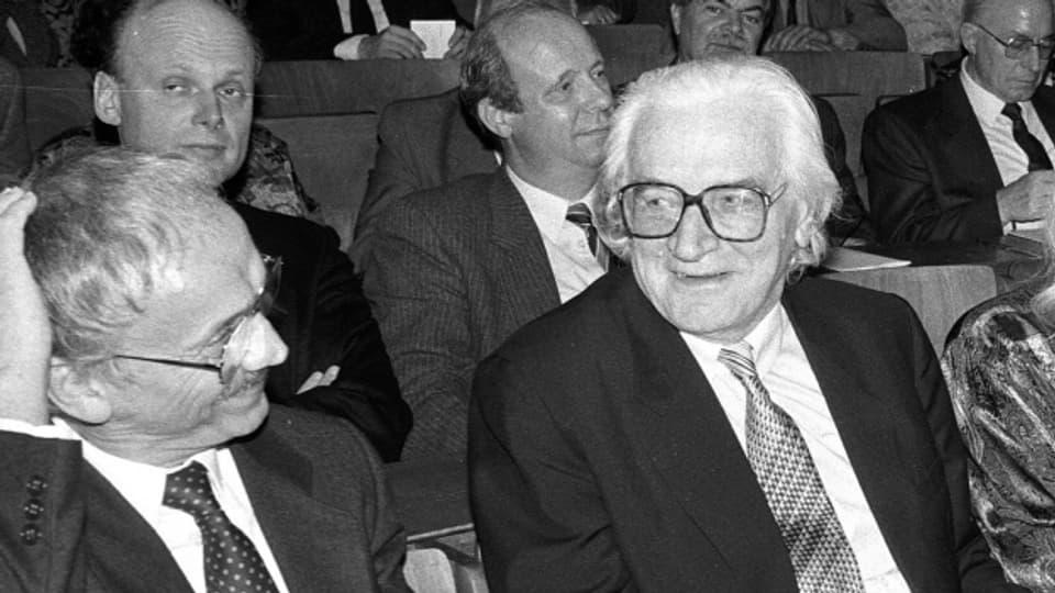 Konrad Zuse (1910-1995) war Bauingenieur, Erfinder und Unternehmer.