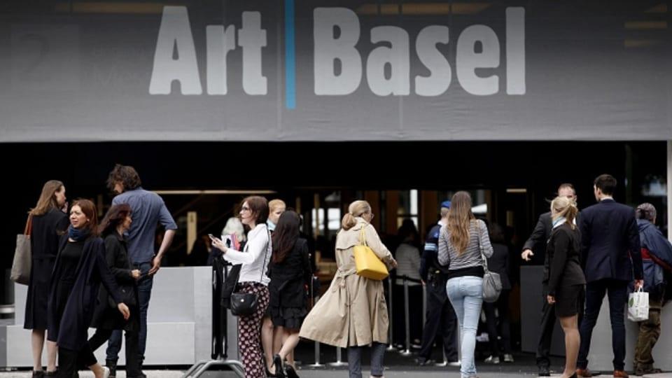 Besucher der Art Basel