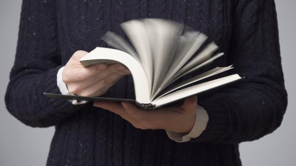Ein Daumenkino ist ein Blätterbuch für Kinder - eine alte Erfindung.