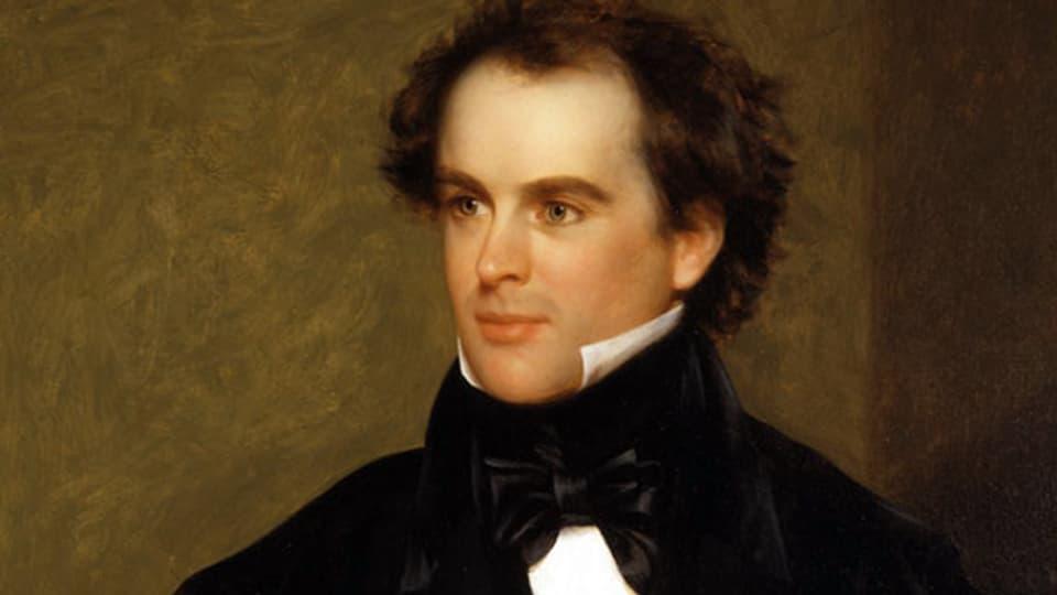 Porträt des jungen Hawthorne aus dem Jahr 1840 von Charles Osgood.