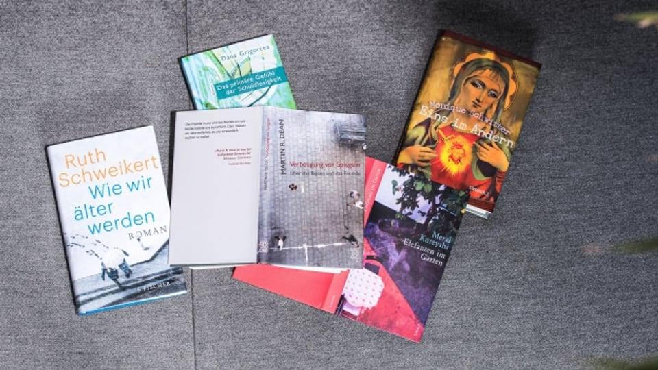 Wer wird den Schweizer Buchpreis gewinnen?