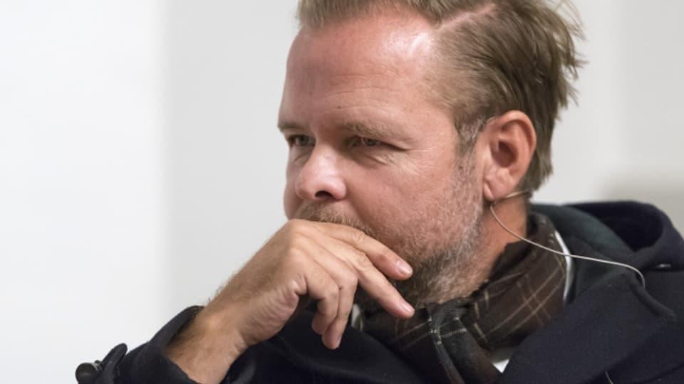 Der Schweizer Schriftsteller, Drehbuchautor und Journalist Christian Kracht gehört zu den Nominierten für den Schweizer Buchpreis 2016.