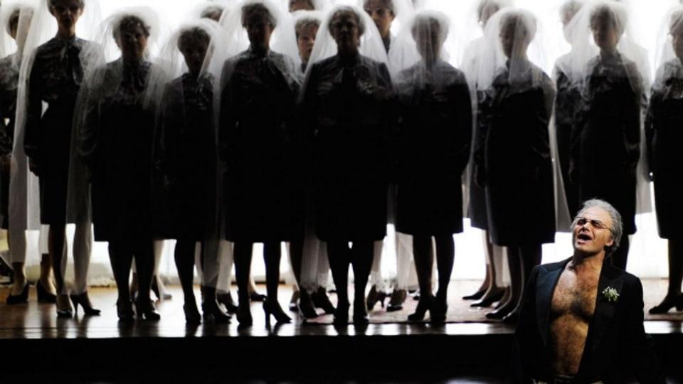 Ausschnitt aus der Oper «Palestrina» 2011 im Züricher Opernhaus.