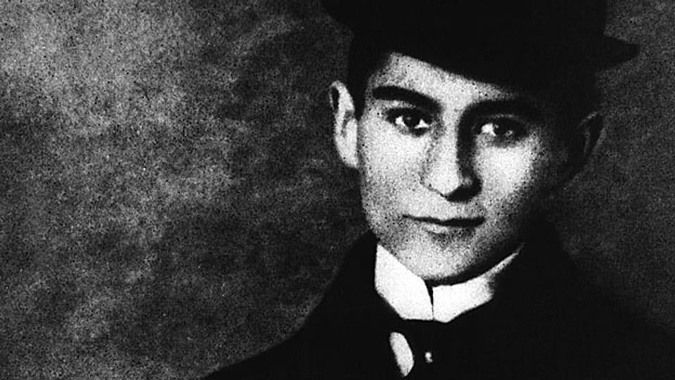 Franz Kafka als Student.