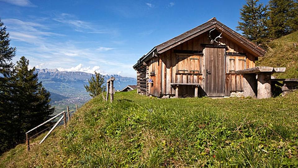 Alphütte.