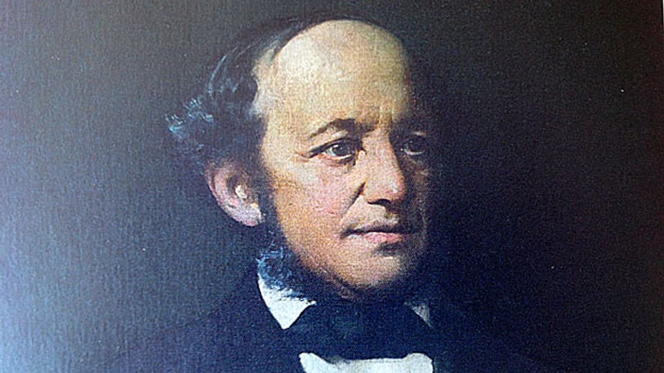 Jonas Breitenstein, Oelgemälde von Ernst Breitenstein, 1885