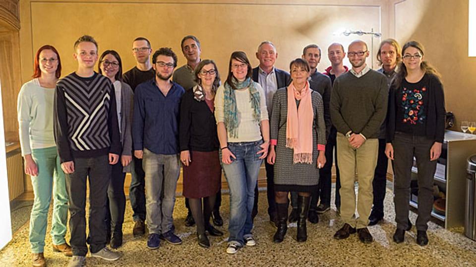 Die gesamte Redaktion des Schweizerischen Idiotikons